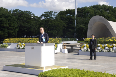 Secretary-General Addresses Hiroshima Peace Ceremony