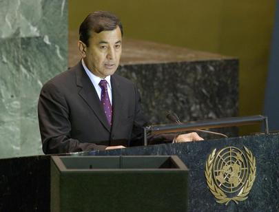 H.E. Mr. Sodiq SAFAEV, Minister for Foreign Affairs