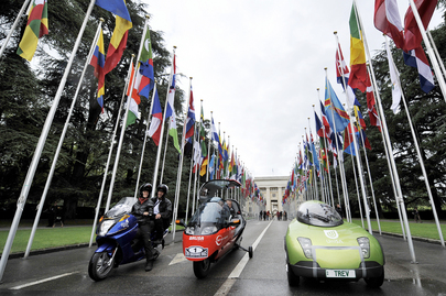 Zero Emissions Race Kicks off at UN Geneva Office