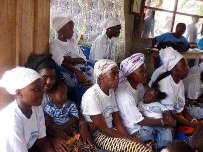 "Liberian Women in Community ""Peace Hut"""