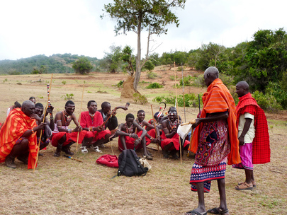 Maasai Traditional Singing Group, Kenya