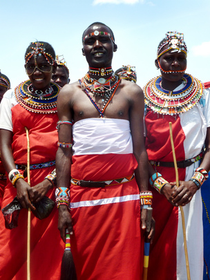 Maasai Traditional Music Group, Kenya