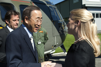 UN Secretary-General Arrives in Liechtenstein on Official Visit