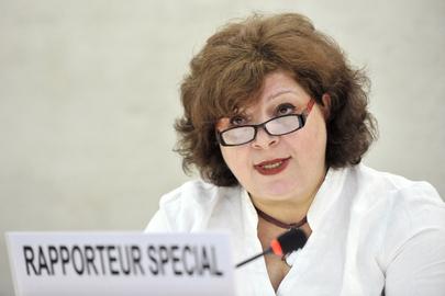 Relatora Especial das Nações Unidas sobre formas contemporâneas de escravidão, Gulnara Shahinian
