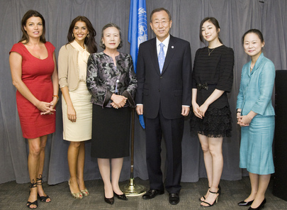 Secretary-General Meets UN Goodwill Ambassadors and Peace Messengers