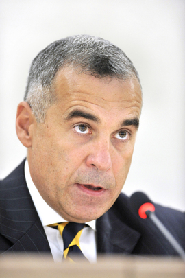 Relator Especial da ONU sobre direitos humanos e resíduos tóxicos, Calin Georgescu