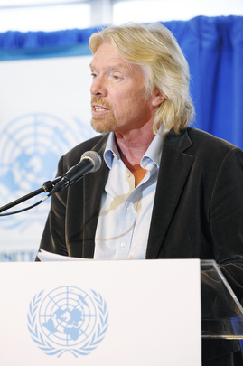 Virgin Group Founder Addresses Private Sector Forum Event