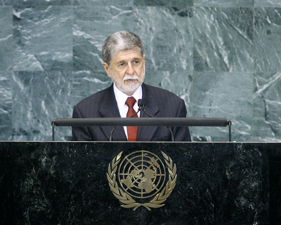 Foreign Minister of Brazil Addresses General Assembly