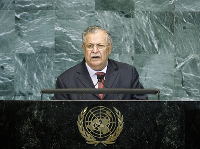 President of Iraq Addresses General Assembly