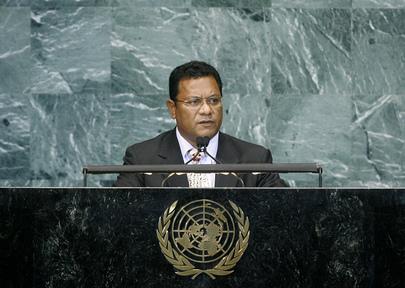President of Nauru Addresses High-level Meeting on Sustainable Development of Small Island States