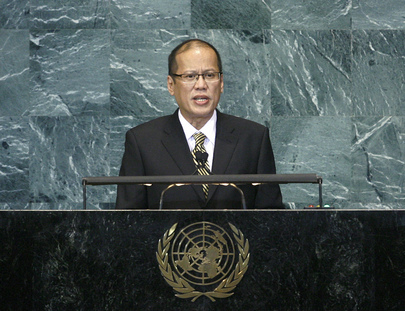 President of Philippines Addresses General Assembly