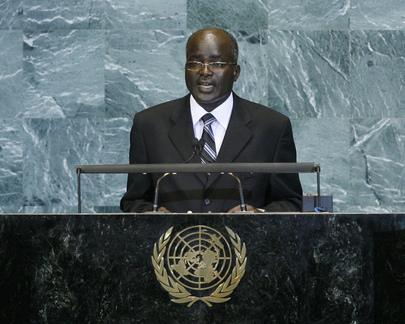 Second Vice-President of Burundi Addresses General Assembly