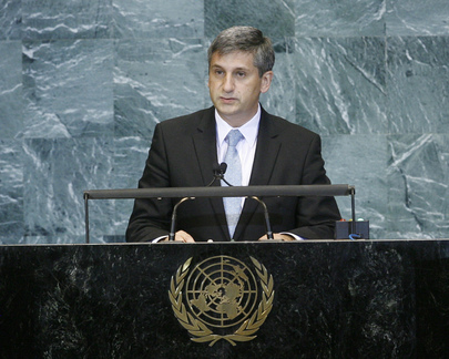 Foreign Minister of Austria Addresses General Assembly