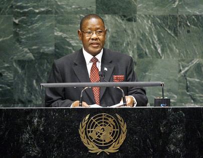 Vice-President of Botswana Addresses General Assembly