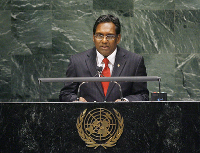 Vice-President of Maldives Addresses General Assembly