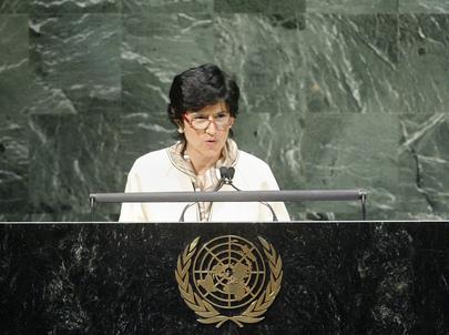 Prime Minister of San Marino Addresses General Assembly