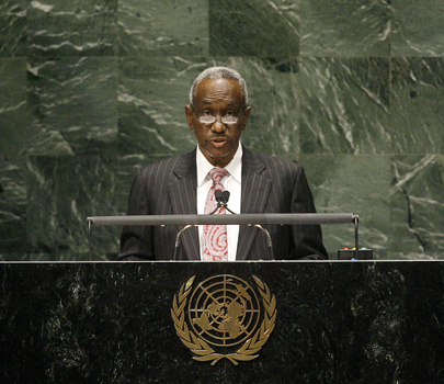 Vice-President of Sudan Addresses General Assembly