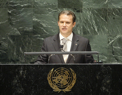 Foreign Minister of Seychelles Addresses General Assembly
