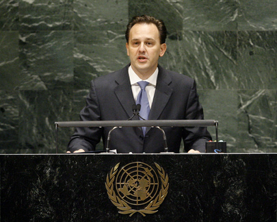 Foreign Minister of Greece Addresses General Assembly