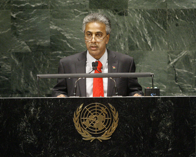Foreign Minister of Mauritius Addresses General Assembly