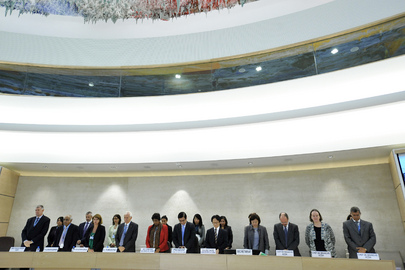 Human Rights Council Mourns Colleague's Passing