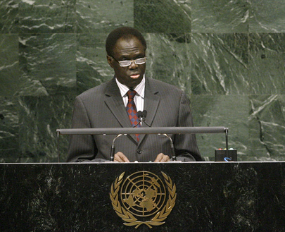 Permanent Representative of Burkina Faso Addresses General Assembly
