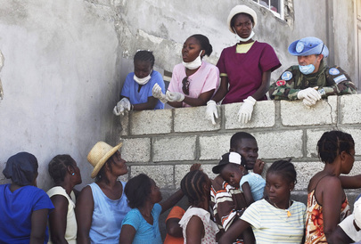 In Isolated Haitian Community Cholera Takes Hold