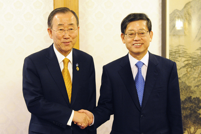 Secretary-General Meets Prime Minister of Republic of Korea in Seoul