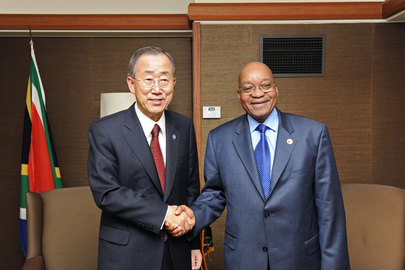Secretary-General Meets President of South Africa in Seoul