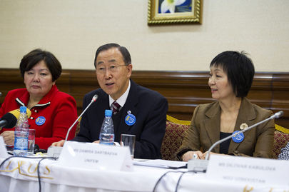 Secretary-General Attends Event on Women, Peace and Security in Kazakhstan