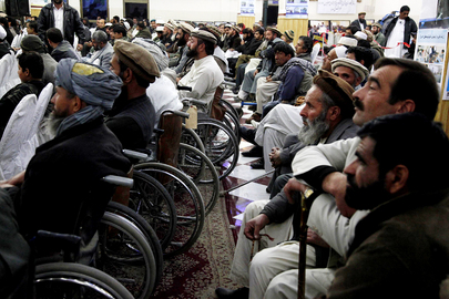 Afghanis Celebrate Day of Persons with Disabilities