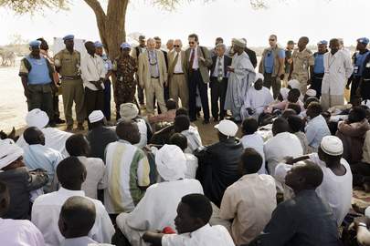 Representatives of Council Member States Visit IDP Community in North Darfur