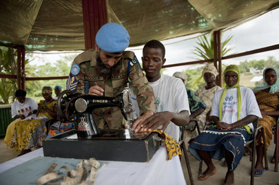 UNMIL Contingent Offers Liberians Job Training Programme