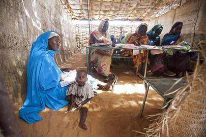 Women Center at Abu Shouk IDP Camp, North Darfur