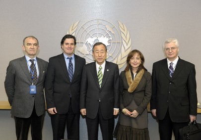 Security General Meets President of the Security Council for January and Staff