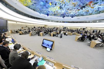 Foto: Conselho de Direitos Humanos da ONU. Foto: ONU/Jean-Marc Ferré