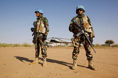 UNAMID Delivers Referendum Materials to North Darfur Community