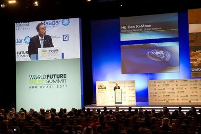 Secretary-General Speaks at Energy Summit in Abu Dhabi