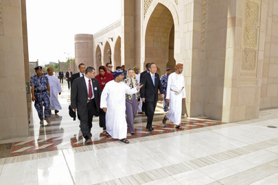 Secretary-General Visits Sultan Qaboos Grand Mosque
