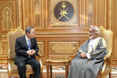Secretary-General Meets Sultan of Oman