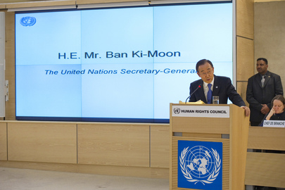 Secretary-General Addresses Human Rights Council