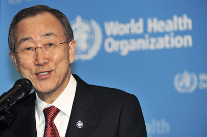 Secretary-General Addresses WHO Staff in Geneva