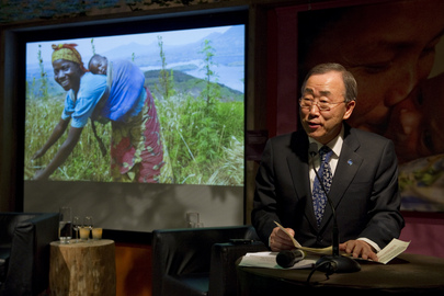 Secretary-General Addresses WFP Event in Davos
