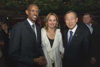 Secretary-General Attends WFP Dinner Event in Davos