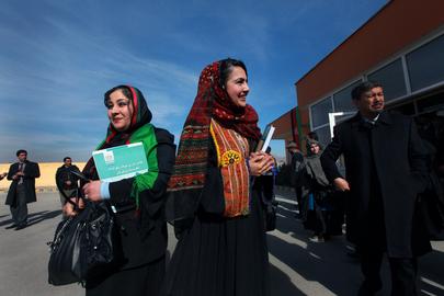 Afghanistan Swears in New Parliamentarians