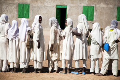 School in Forobaranga, West Darfur