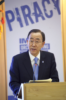 Secretary-General Speaks at Launch of IMO Anti-Piracy Plan