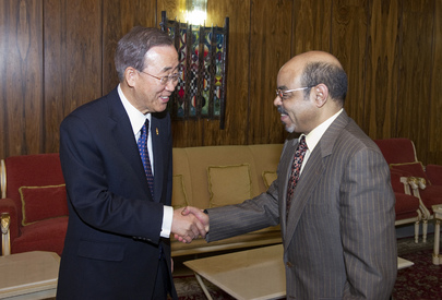Secretary-General Meets Prime Minister of Ethiopia in Addis Ababa