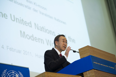 "Secretary-General Delivers Lecture ""UN and Modern World"" in Berlin"