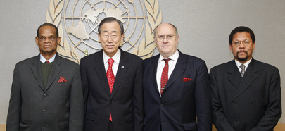 Secretary-General Meets Heads of UN Assembly Presidents Council